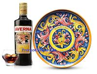 Logo ''Vinci le ceramiche con Averna'' : in palio 30 piatti centrotavola per il 150° anniversario