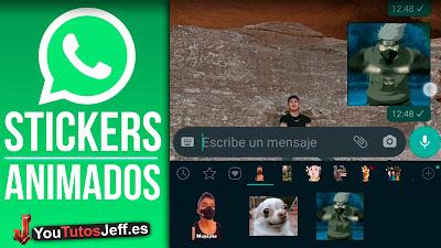 crear stickers animados whatsapp