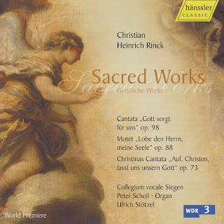 Siegen Collegium Vocale – Rink: Sacred Works