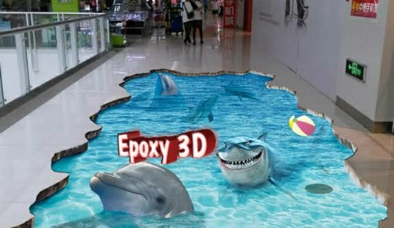 contoh epoxy lantai