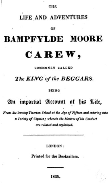The Life and Adventures of Bampfylde Moore Carew