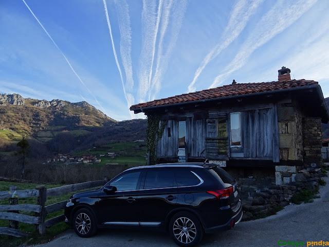 Punto de partida; La Infiesta en el concejo asturiano de Caso.