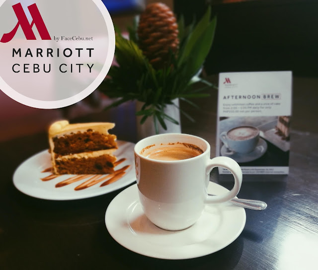 Cebu City Marriott Hotel Promo : Coffee and Cake for PHP 250