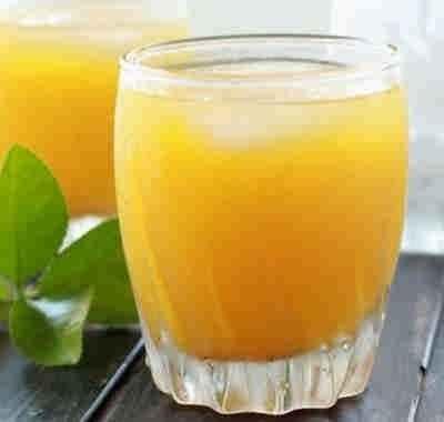 عصير البرتقال بالنعناع