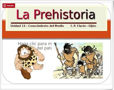 """""""La Prehistoria"""" (Presentación del C.P. Clarín de Gijón)"""