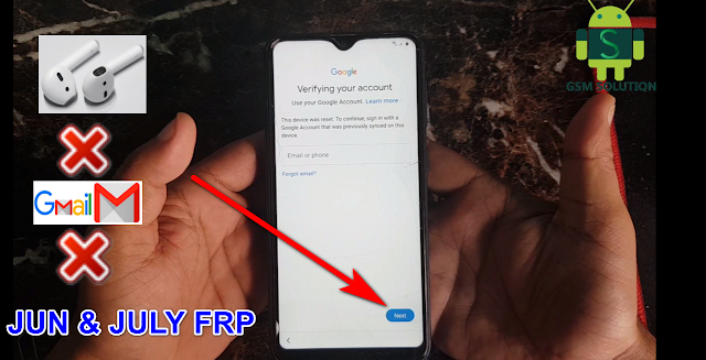 Samsung Jun & July Security Update Google Account Lock-FRP Bypass Android10 Without Pc