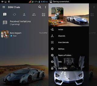 BBM Mod Sport Car V3.2.5.12 Apk