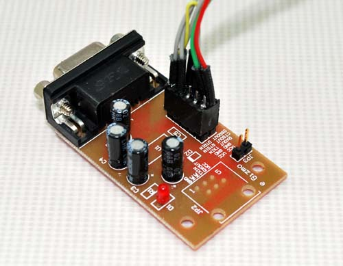 AVR Programming dongle using TTL-RS232C Converter Kit | e-Gizmo