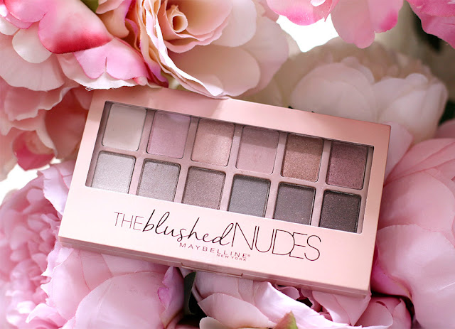 Maybelline The Blushed Nudes Palette Life With Audrey
