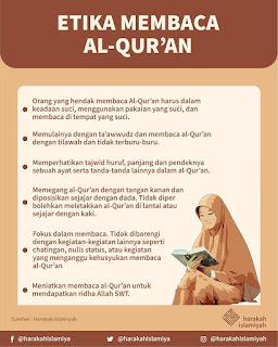Etika Membaca Al-Qur'an - Qoutes - Kajian Medina