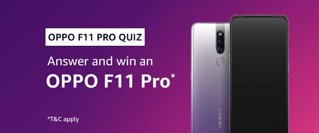 Amazon Quiz Answers Today 07 September 2019 – Win Rs 10,000