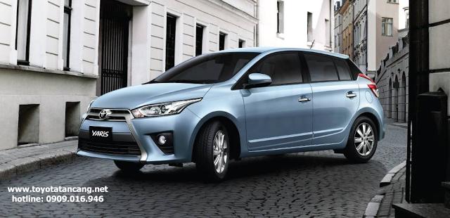 gia xe toyota yaris 2015 - Kỷ niệm 20 năm thành lập khuyến mãi lớn khi mua xe tại Toyota Hùng Vương - Muaxegiatot.vn