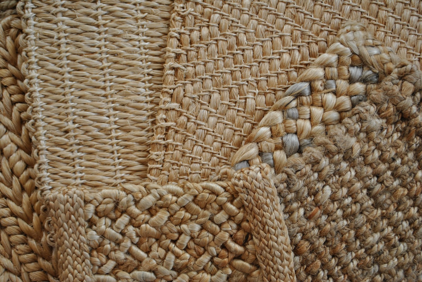 A Selection Of Abaca Banana Leaf And Jute Rugs