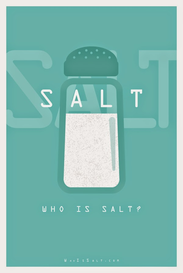 Danish Ahmed, Literal Movie Posters, Salt