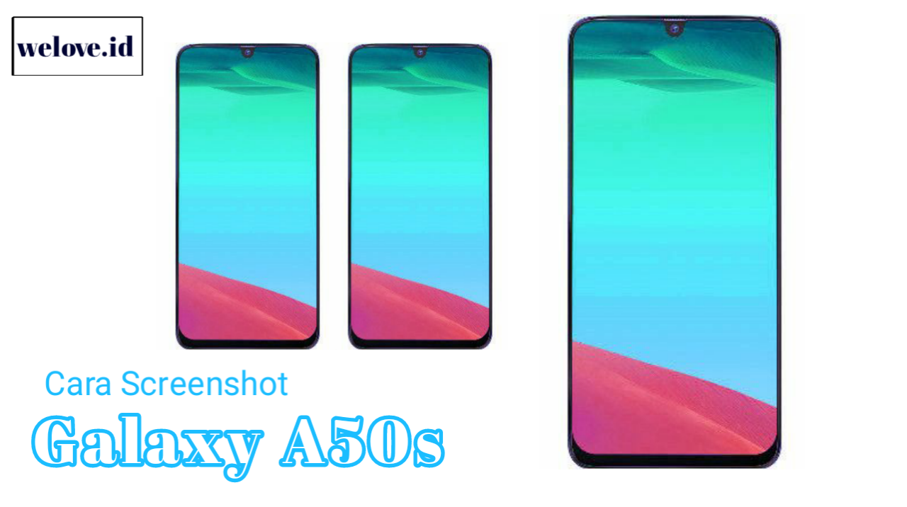 Cara Screenshoot Samsung Galaxy A50s