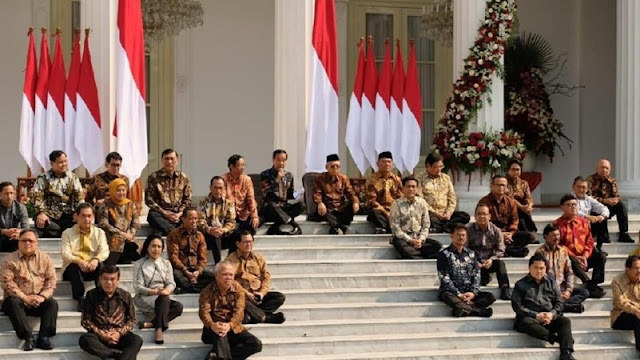 This is the List of Indonesian cabinet ministers  2019-2024