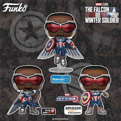 The Falcon and the Winter Soldier Pop! Series 2 Vinyl Figures by Funko