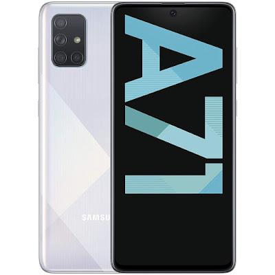 Samsung Galaxy A71 blanco