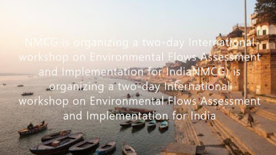Two-day International Workshop on Environmental Flows Assessment and Implementation for India held in New Delhi