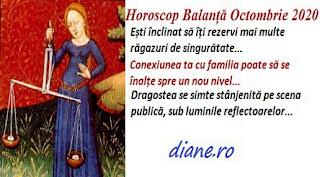 Horoscop Balanță Octombrie 2020