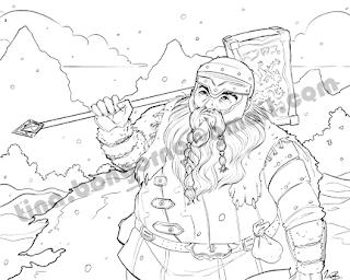 A Character Portrait of Balen the Dwarf