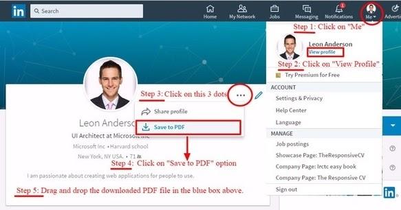 Sl Techno Zone: How Do I Download My Linkedin Profile And Data?