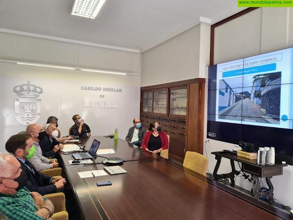 La Comisión Insular de Patrimonio aprueba un proyecto para mejorar las calzadas del casco histórico de Garafía