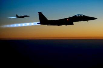 USA launches more air strikes in Syria and Iraq