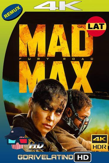 Mad Max: Furia En El Camino (2015) BDRemux 4K HDR Latino-Ingles MKV