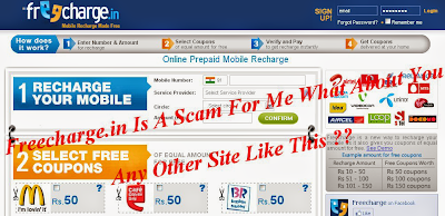Freecharge Mobile Recharge Scam