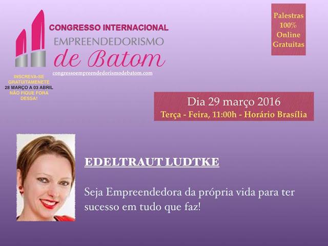 Minha palestra no Congresso Empreendedorismo de Batom