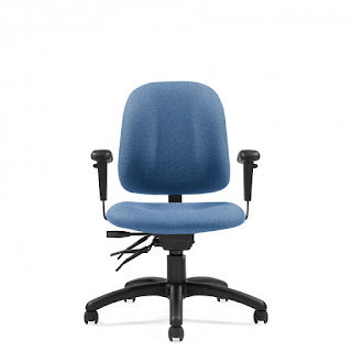 Multi Function Task Chair with Arms