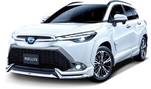 Toyota Corolla Cross recebe personalização esportiva no Japão