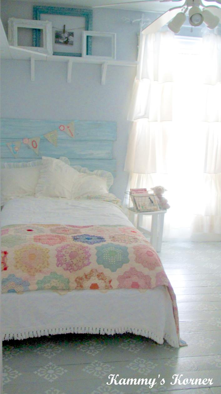 Kammy 39 s korner tori 39 s shabby chic big girl room reveal - Little girls shabby chic bedroom ...
