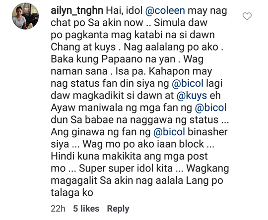 Billy Crawford Engages In Word War With Netizens Who Are Spreading Rumors About Him And Girl Trends' Dawn Chang