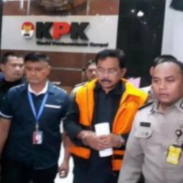 Terjaring OTT KPK, Nurdin Basirun Gubernur Kepri Ditetapkan Jadi Tersangka