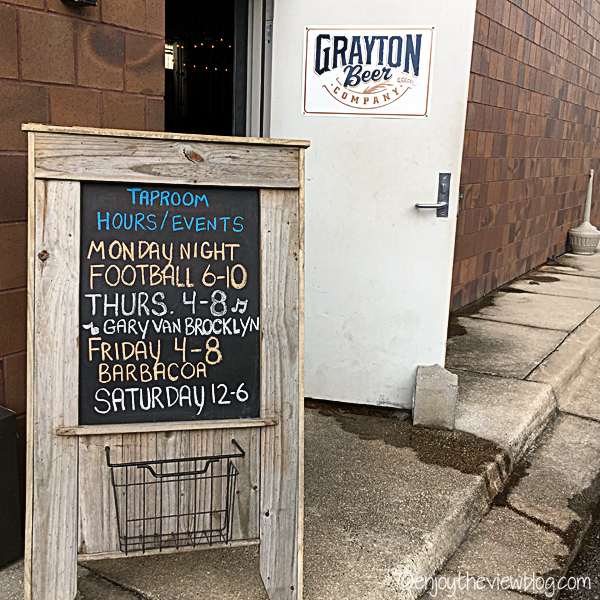 Entrance to Grayton Beer Company