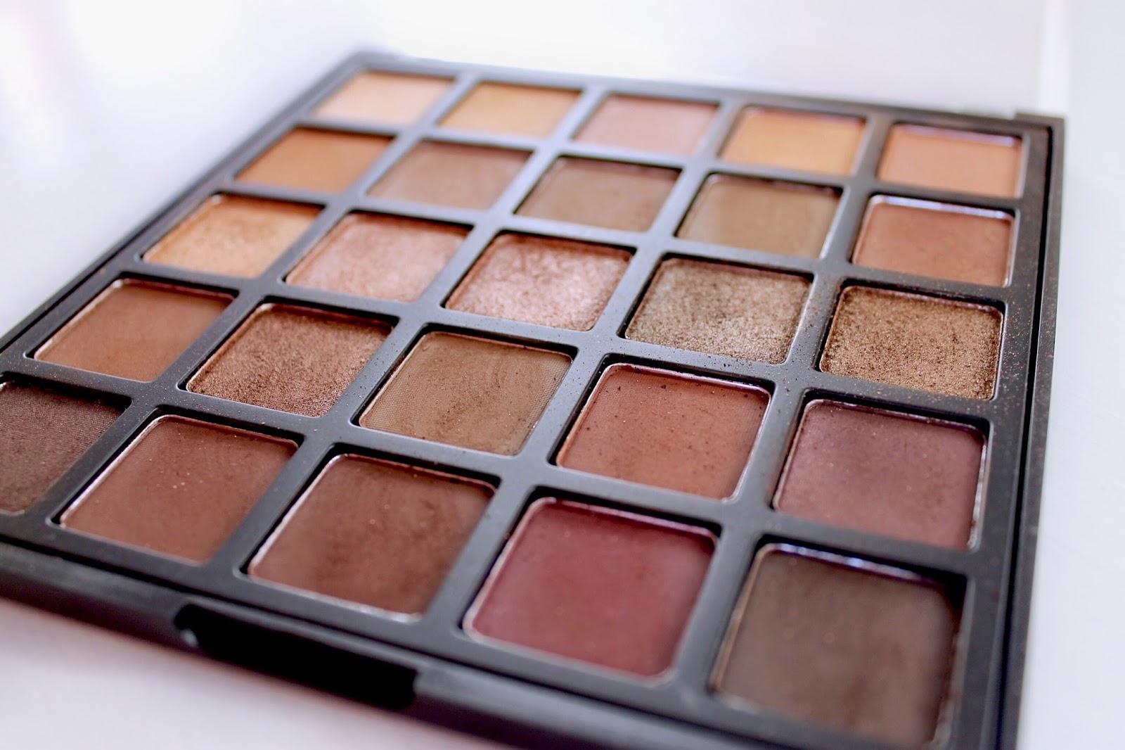 Morphe 25B Bronzed Mocha palette review