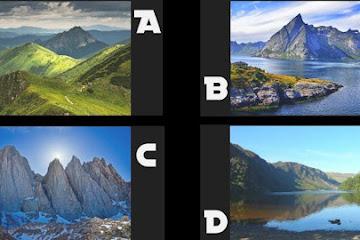 Какую гору вы бы исследовали? Ваш выбор раскрывает вашу истинную силу души