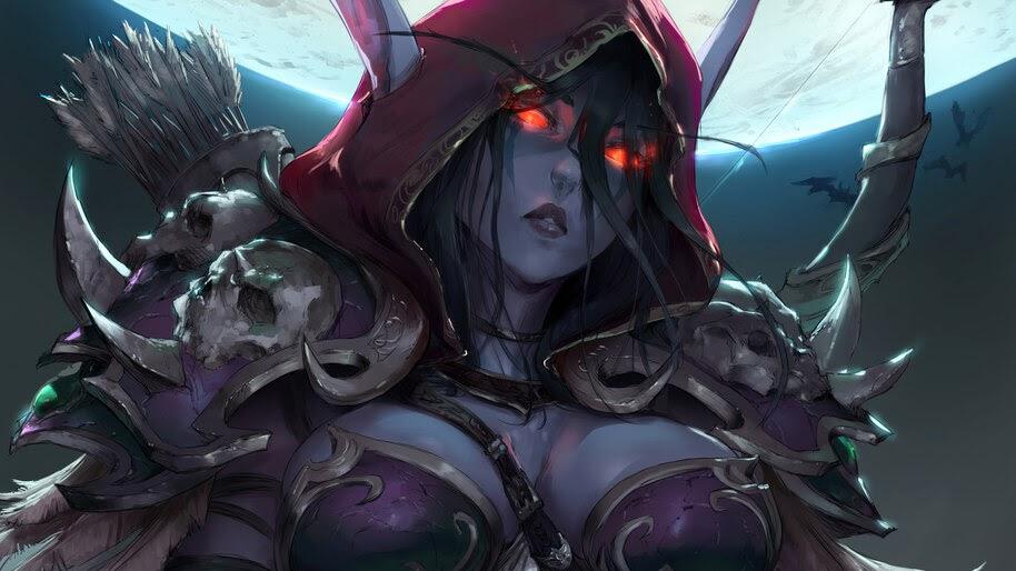 Sylvanas Windrunner, World of Warcraft, 4K, #3.2715