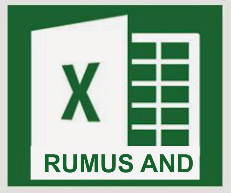 Fungsi Rumus AND di Microsoft Excel 2013