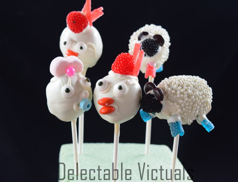 cake pops sheep shaun ahirley