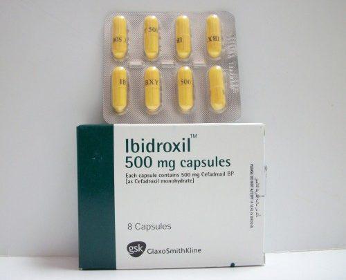 سعر دواء أبيدروكسيل Ibidroxil كبسولات شراب مضاد حيوى