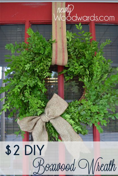 How to Make a Boxwood Wreath
