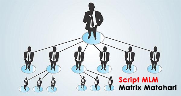 Script MLM Sistem Matrix dan Matahari