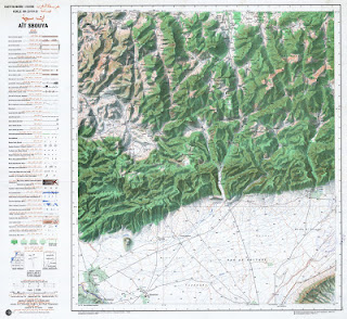 Ait-SBOUYA Morocco 50000 (50k) Topographic map free download