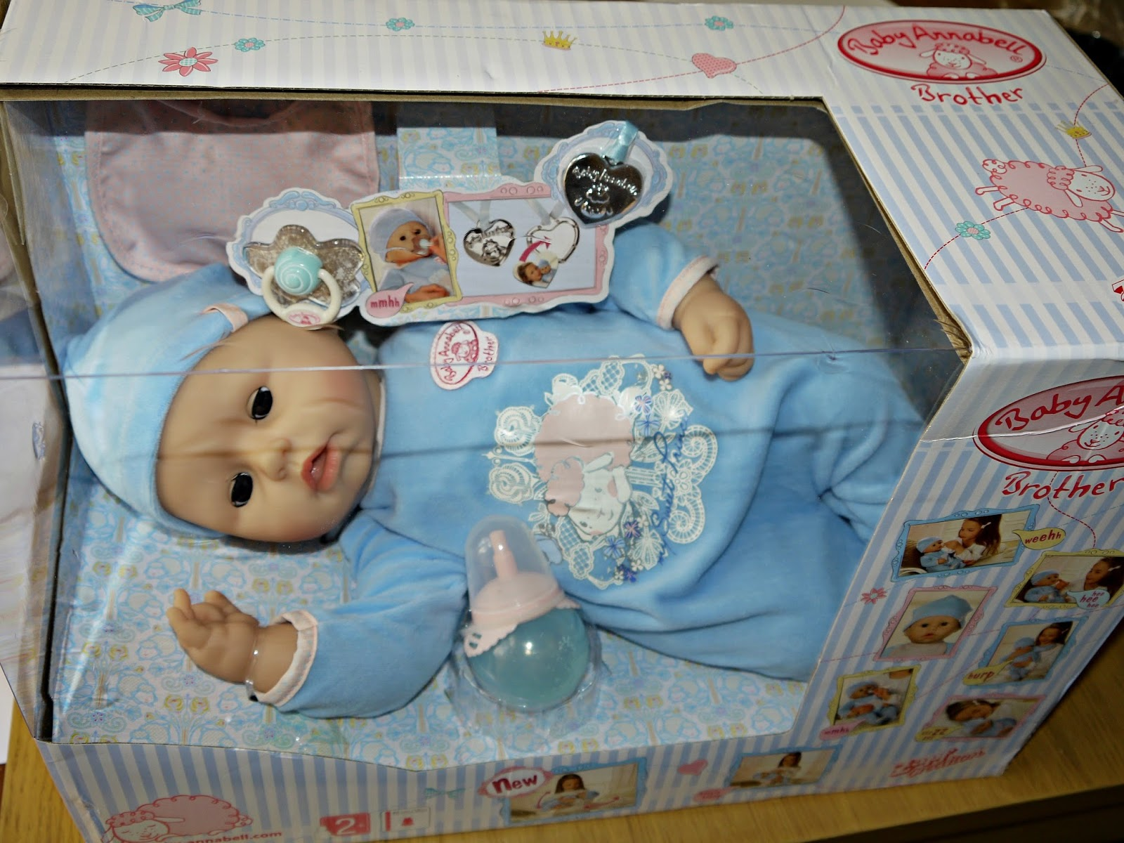 Inside the Wendy House: Baby Annabell Brother Interactive ...