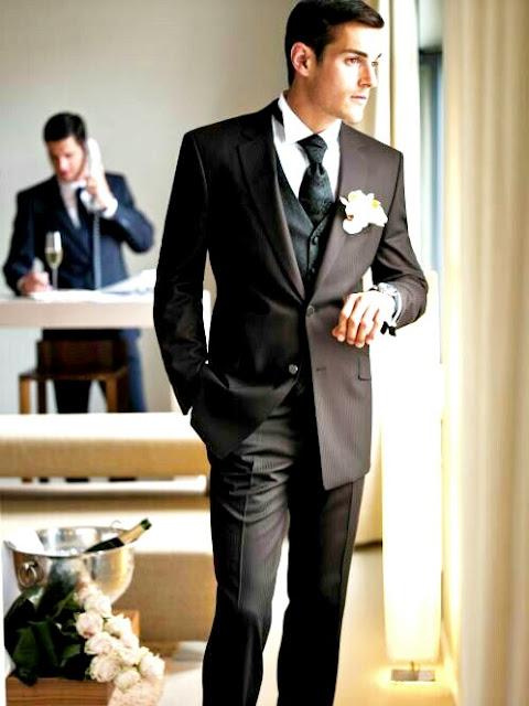 Cómo elegir traje de novio