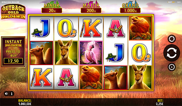 Main Gratis Slot Indonesia - Outback Gold Hold And Win iSoftbet