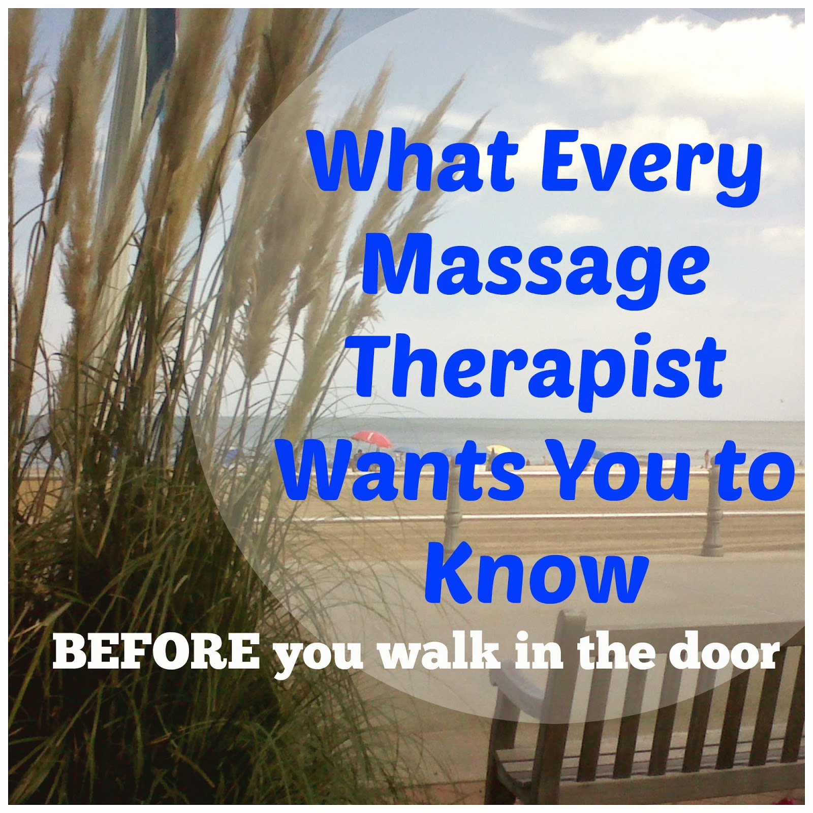 Not a massage therapy i know